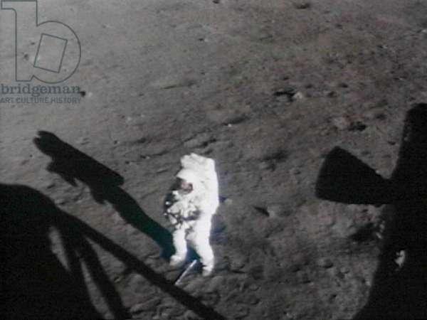 Apollo 11: N. Armstrong on the Moon 07/69 - Apollo 11: Neil Armstrong near Lunar Module. Jul 20 1969 - Neil Armstrong near the lunar module. Jul 20 1969