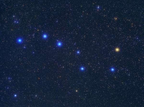 Constellation Ursa - Constellation of Ursa Major - Grand Chariot, asterism of the constellation Ursa Ursa