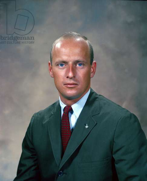 "Gemini 5: portrait of Charles Conrad - Gemini 5: portrait of Charles Conrad - Portrait of Charles ""Pete"""" Conrad (1930 - 1999) in 1964. Portrait of Astronaut Charles """" Pete"""" Conrad, pilot of Gemini 5. 1964"
