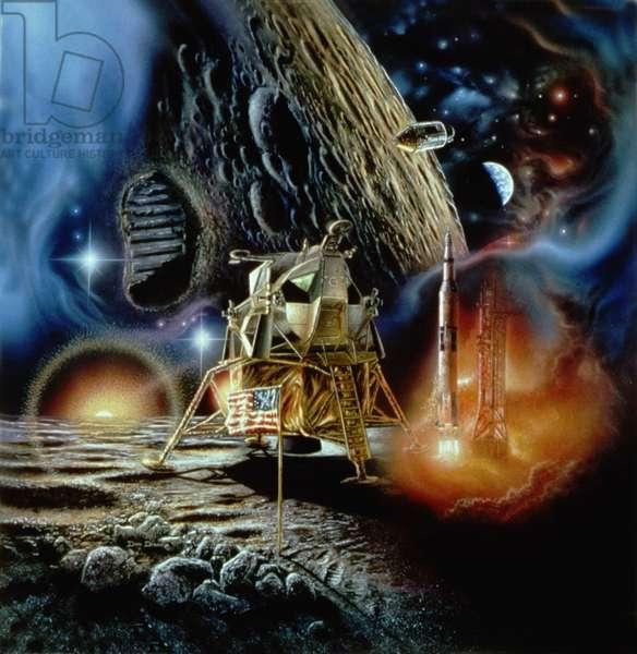 Apollo 11: Artist View - Apollo program - Artist vie