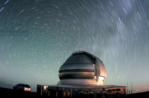 Mauna Kea Observatory - Telescope Gemini north - Mauna Kea Observatory - Telescope Gemini nort