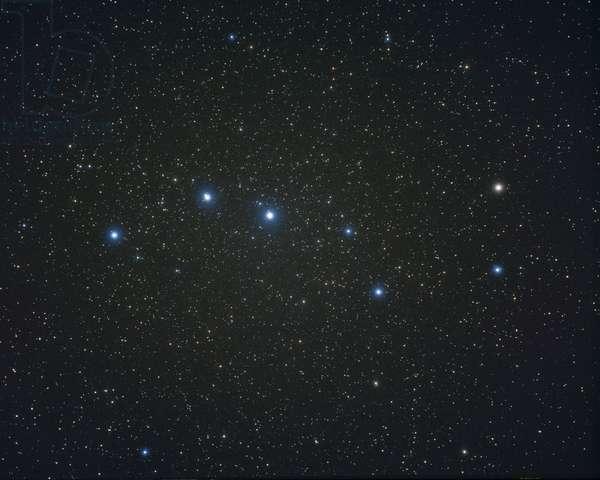 Constellation of Ursa Major - Constellation of Ursa Major - Grand Chariot, asterism of the constellation Ursa Ursa. The Big Dipper