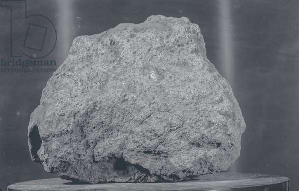 Apollo 11: lunar rock - Apollo 11: lunar rock: basaltic lunar rock brought back by astronauts from the Apollo 11 mission. Sample 10057. Lunar basalt sample. The sample number is 10057. This rock was among the samples collected by astronauts Neil A. Armstrong and Edwin E. Aldrin Jr. during their lunar surface extravehicular activity on July 20, 1969.