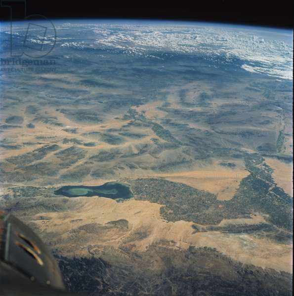 Southern California seen by Gemini 5 - 1965 - Imperial Valley and Salton Sea, Southern California, observed by Gemini - 5 on 21/08/1965
