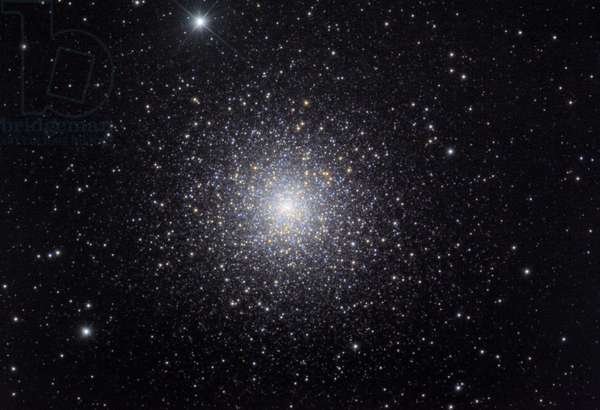 Globular cluster M15 in Pegase - Globular cluster M15 in Pegasus - About 40,000 years - light from Earth in the constellation Pegas