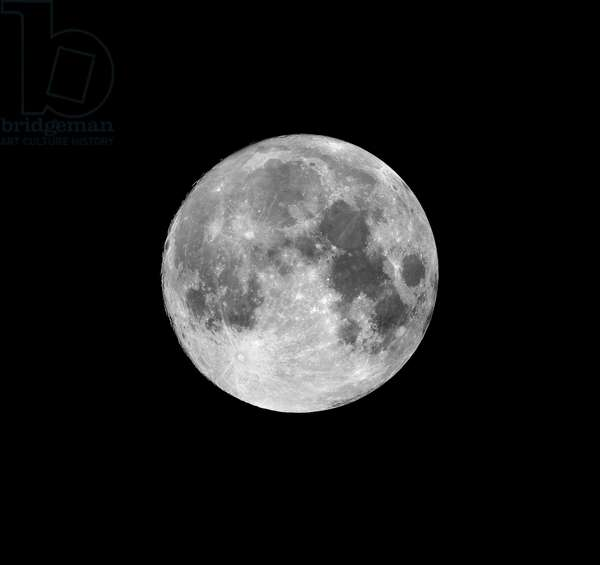 Moon seen just after Full Moon. 14,5days - Full moon (14,5 days)