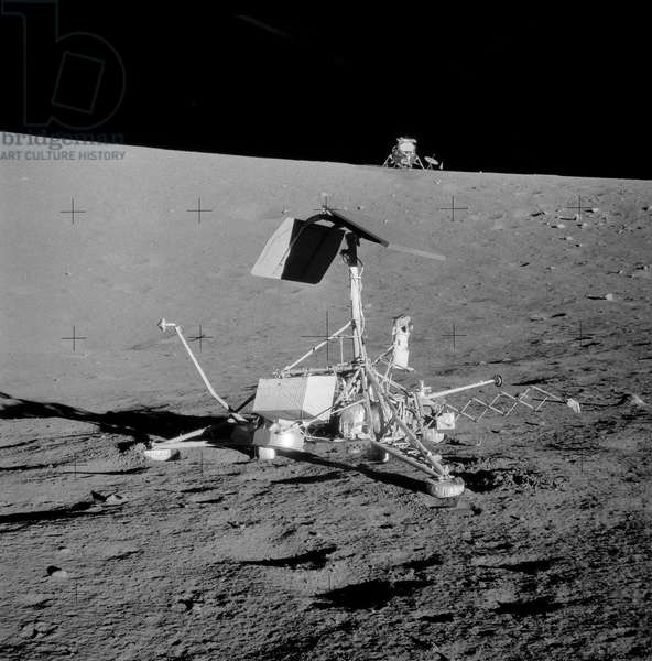 Apollo 12: the Surveyor III probe - Apollo 12: lunar probe Surveyor III visited by astronauts - The Surveyor III space probe 19/11/1969