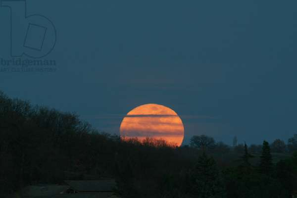 Sunrise Full Moon - Moonrise - Full Moon rise