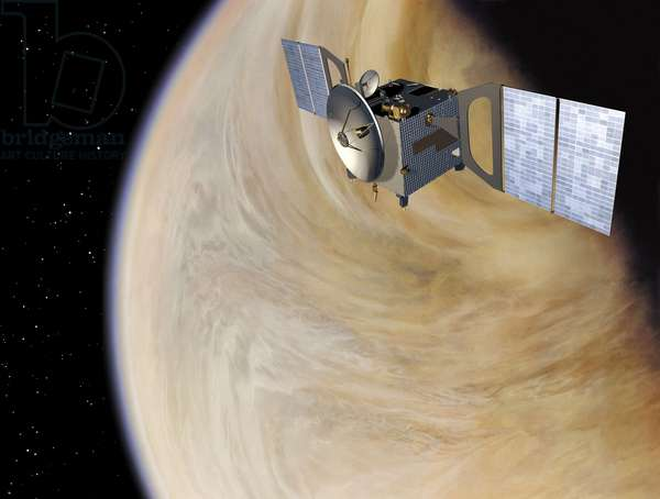 Venus Express Probe - Artist View