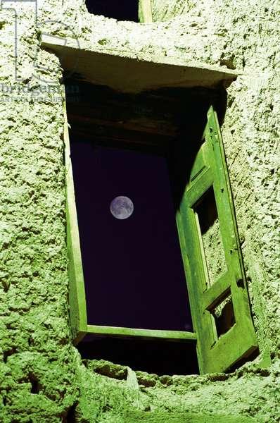 Full Moon Night - Full Moon - Moon Dream, Abiuneh village, Kasha