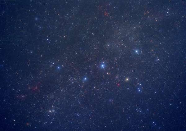 Constellation Cassiopee - The constellation of Cassiopei