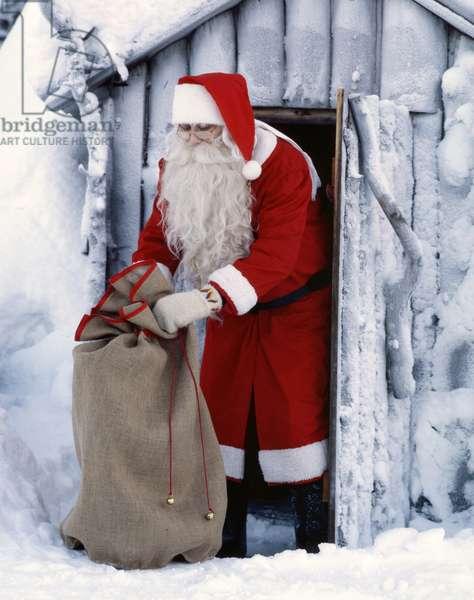 Santa Claus in Lapland - Santa Claus in Lapland - Santa Claus in Lapland. Father Christmas in Lapland