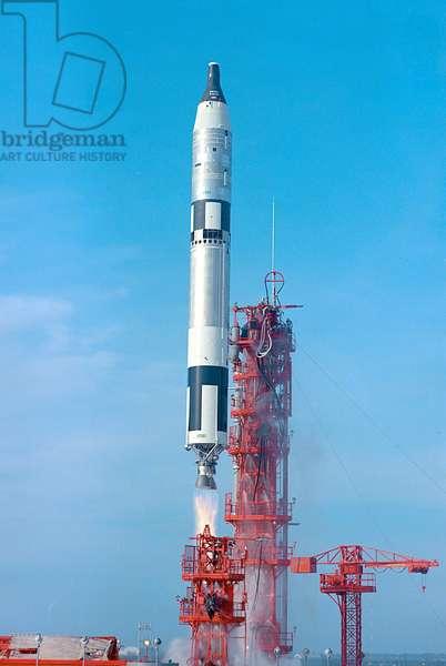 Decollage de Gemini 6 - Launch of Gemini 6 - 15 December 1965