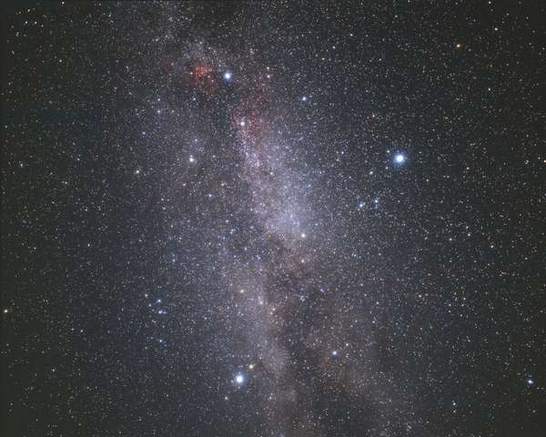 Summer Triangle - Summer Triangle - The Summer Triangle is an asterism formed by the brilliant stars Deneb (in the Swan), Vega (right in the Lyre) and Altair (in the Eagle). Summer Triangle is an asterism made of three bright stars: Deneb (top in Cygnus, Vega (right in Lyra) and Altair (bottom in Aquila)