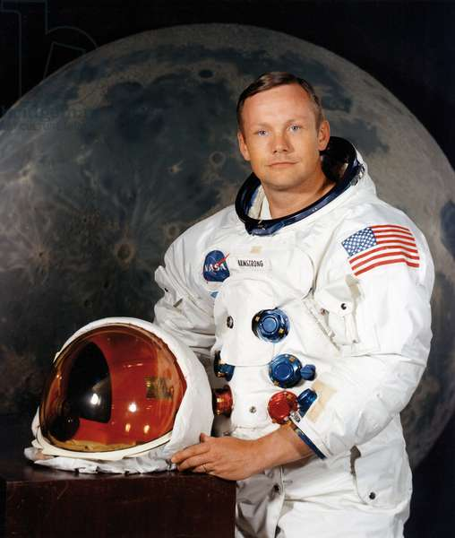 Portrait of N. Armstrong - Portrait of Neil A. Armstrong. Apollo 11 - Portrait of Neil A. Armstrong, Commander Apollo 11. 01/07/1969. Portrait of Commander Neil A. Armstrong. Apollo 11 Lunar Landing Mission. Jul 01 1969