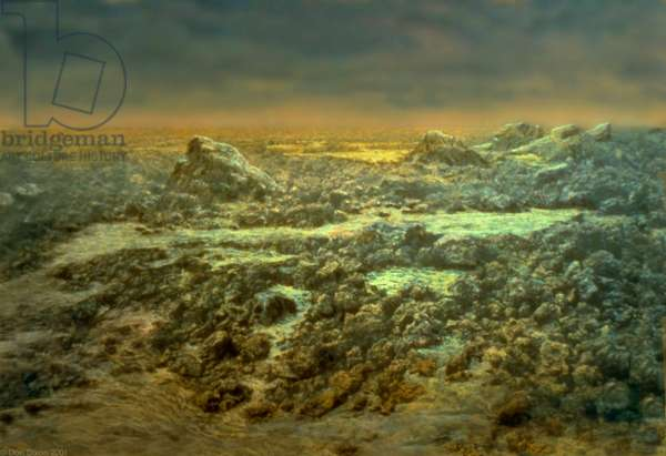 Venus Surface - Artist's View