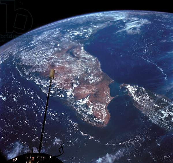 India and Sri Lanka seen by Gemini - 11 09/1966 - India and Sri Lanka observed by Gemini - 11 on 14/09/1966