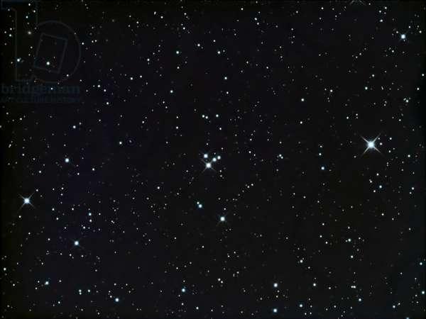 M73 in Aquarius - M73 in Aquarius - Group consists of four stars located in the constellation Aquarius. Asterism in Aquariu