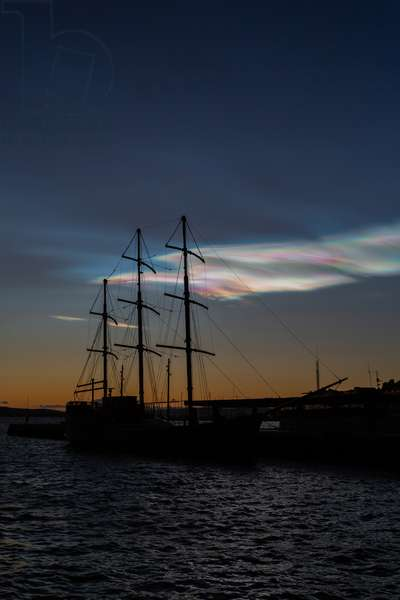 Pearl clouds, Norway, 2020 (photo)