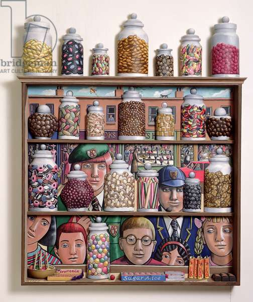 Sweetshop, 2005 (acrylic on canvas)