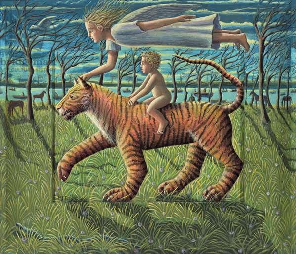 The Infant, 2011 (acrylic on wood)