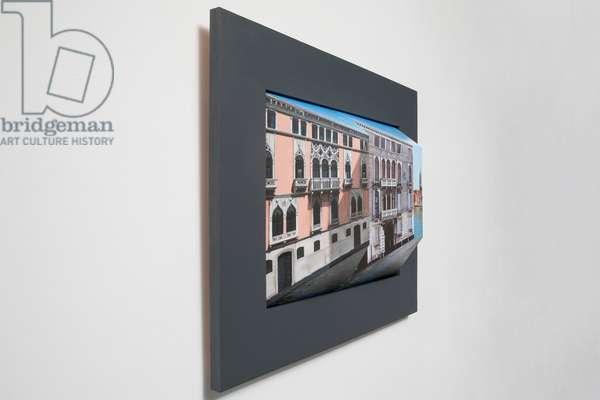 Poignant Palazzo, 2017 (oil on board construction )