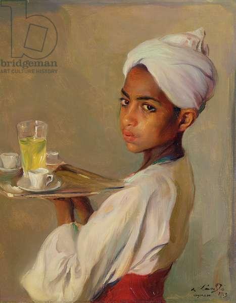 A Nubian Serving Boy, 1929 (oil on canvas)