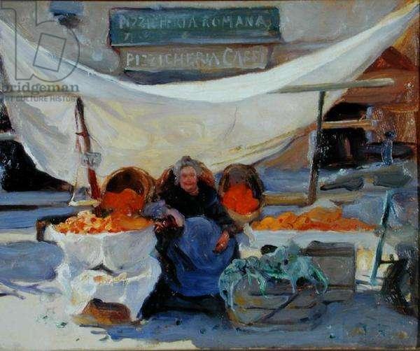 The Orange Seller, 1923 (oil on canvas)