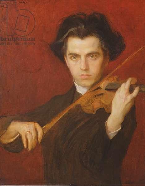 Jan Kubelik (1880-1940), 1903 (oil on canvas)