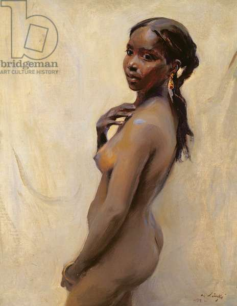 A Marrakesh Girl, 1932 (oil on board)