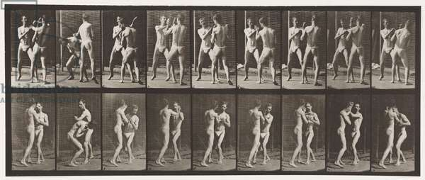 Plate 337. Boxing; Open Hand (Shoes), 1872-85 (collotype on paper)