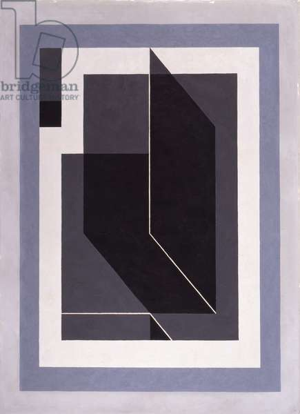 Bent Black (A), 1940 (oil on masonite)