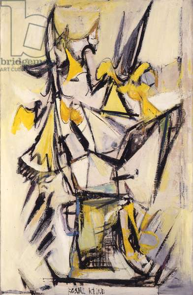 Abstract, 1948 (oil on canvas)