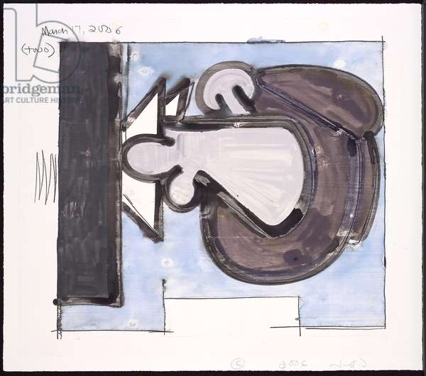 Untitled (2), 2006 (monotype in w/c & pencil on Lanaquarelle paper)