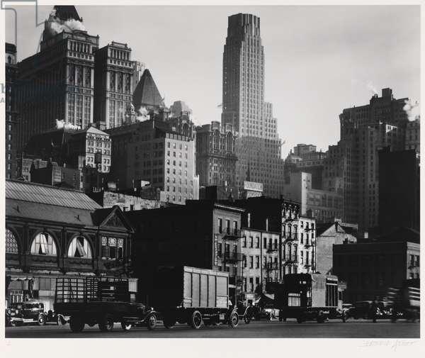 West Street, neg, 1936, print 1979 (gelatin silver print)