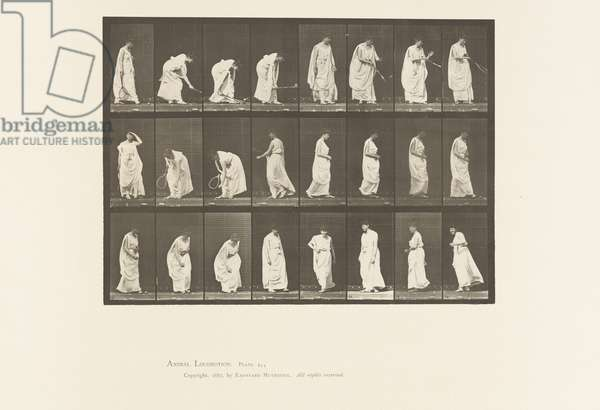 Plate 299. Playing with a Ball, 1885 (collotype on paper)