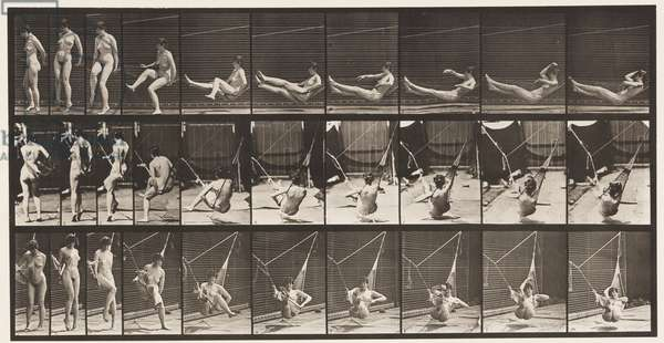 Plate 261. Getting into Hammock, 1872-1885 (collotype on paper)