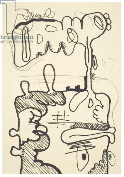 #7, 1993 (offset litho on Japico ivory paper)