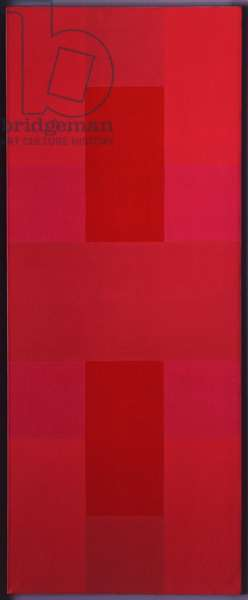Abstract Painting, Red, 1952 (acrylic on canvas)