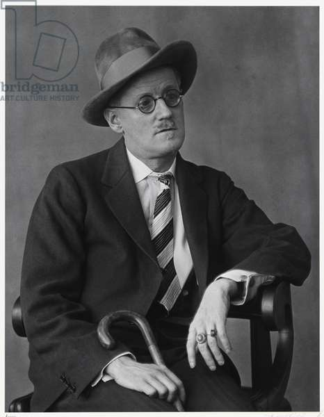 James Joyce, Paris, 1928, printed 1981 (gelatin silver print)