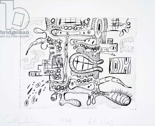 Untitled, 1994 (siligraph on Zerkall paper)