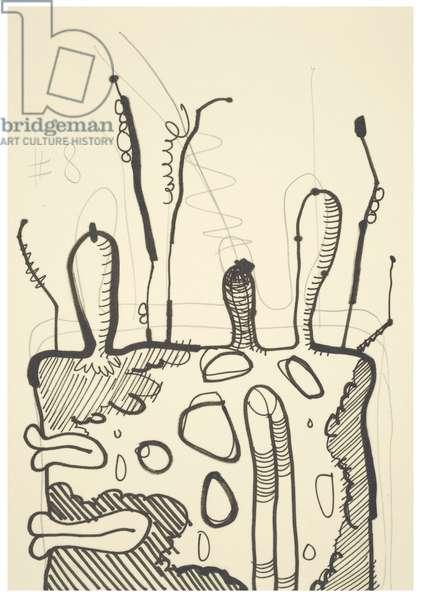 #8, 1993 (offset litho on Japico ivory paper)
