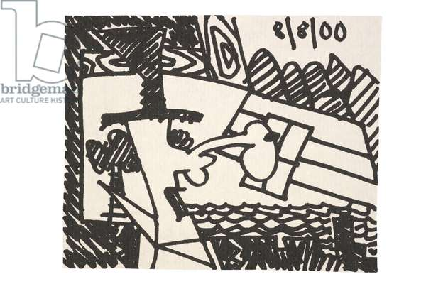 Mr. Nobody, 2001 (photoengraving on Bodleian paper)