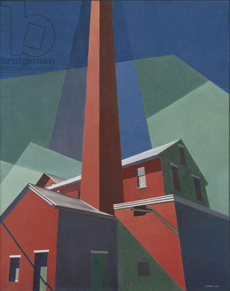 Ballardvale, 1946 (oil on canvas)
