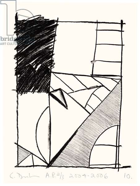 Untitled (10), 2004-06 (litho on Fabriano Esportazione paper)