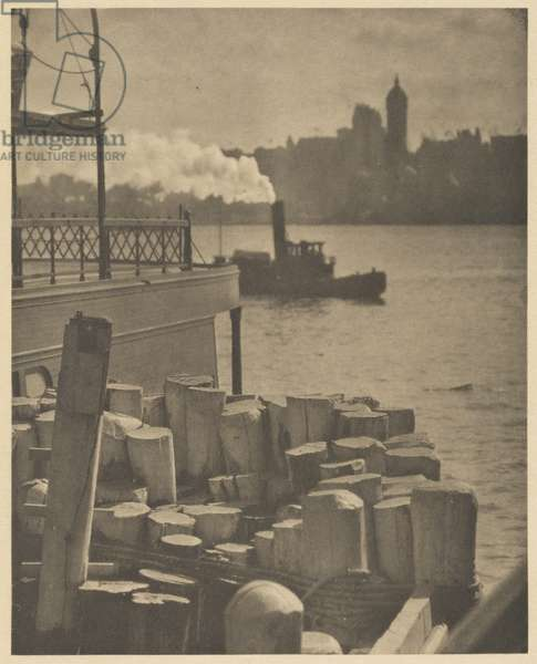 The City Across the River, 1910 (photogravure)