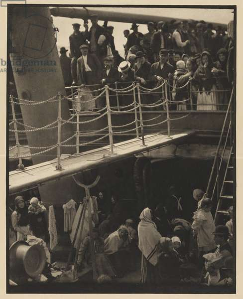 The Steerage, 1907 (photogravure on Japanese vellum)