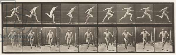 Plate 68. Running, 1872-85 (collotype on paper)