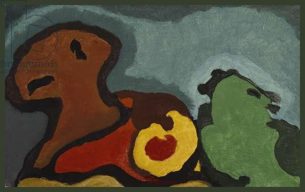 Autumn, 1935 (tempera on canvas)