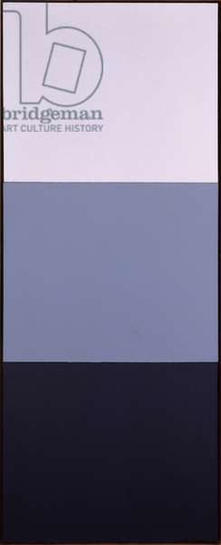 Third Figure, 1974 (oil on canvas (three joined panels))